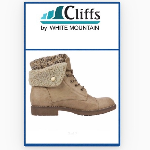 b26e2b54398 CLIFFS BY WHITE MOUNTAIN Duena Lace Up Boot-10 NWT